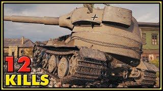 Pz.Kpfw. VII - 12 Kills - World of Tanks Gameplay