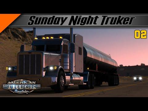 "🔴LIVE - Balade avec la version 1.36 Beta sur ""American Truck Simulator""."