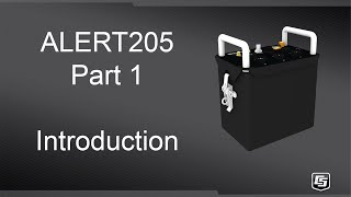 alert205 part 1 - introduction