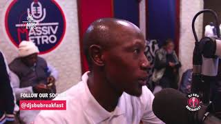 Mzambiya Talks Staying Away From Music & Working In Different Industries On The DJSbuBreakfast
