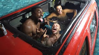 We Turned A Car Into A Swimming Pool (FLOODED HOUSE)