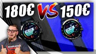 Honor Magicwatch 2 vs. Huawei Watch GT2 - Günstiger mit Abstrichen? - Test