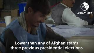 Attacks, fraud fears dampen Afghan poll turnout