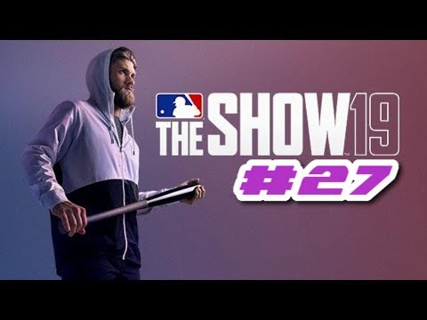 MLB The Show 19 PS4 Road To The Show - GETTING AGGRESSIVE AT THE PLATE