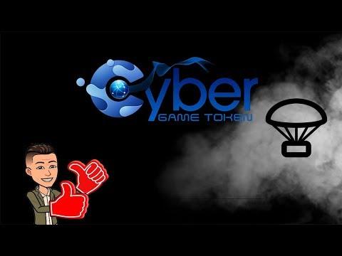 Ganhe R$39 reais no Airdrop CyberGame , JÁ LISTADO EM EXCHANGE !