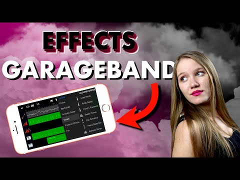 How to use vocal effects in GarageBand iOS (iPhone/iPad)