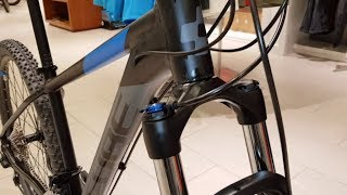 Cube Attention black n blue MTB Hardtail Modell 2018