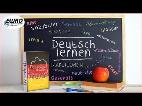 Немецкий язык. Управление глаголов. Вопросительные и указательные местоименные наречия.