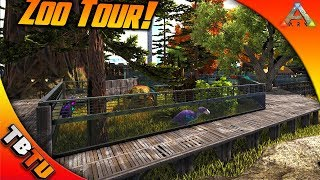 ARK SURVIVAL MUTATION ZOO TOUR WITH TINY HUMAN! TONS OF MUTATED DINOS! Ark  Survival