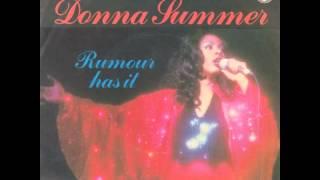 Donna Summer - Rumour Has It