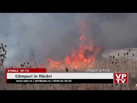 Câmpuri în flăcări