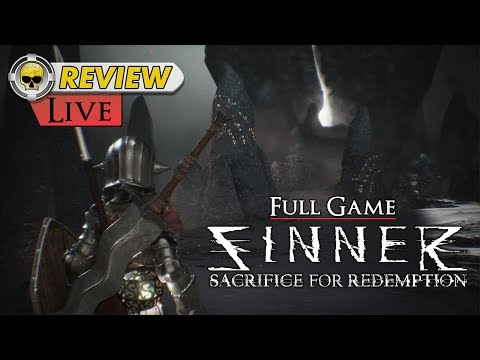 "SINNER: Sacrifice for Redemption - LIVE - REVIEW (A Boss Focused ""Souls-like"") video thumbnail"