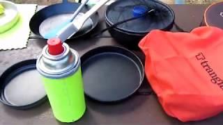 戶外煮食 露營野餐  各種煎鍋 炒鍋  煎pan Fry pan 比較及介紹