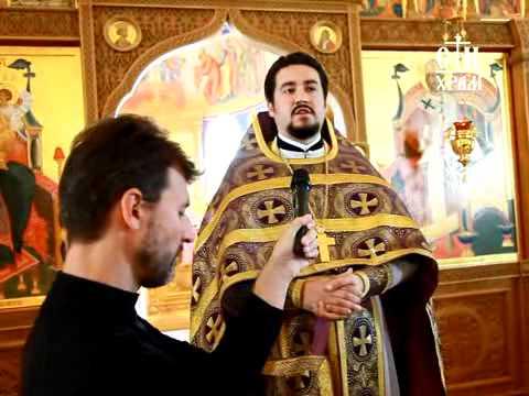 Проповедь в праздник Воздвижения Честного Креста Господня.