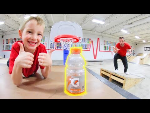 Father VS Son GAME OF BOTTLE FLIP 3!