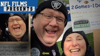 2 Live NFL Games in 2 Different Cities in 1 Day | NFL Films Presents