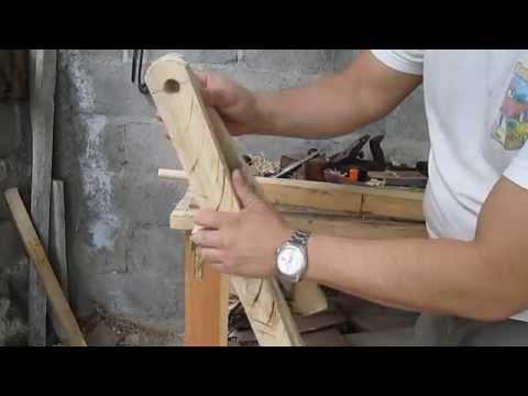 Como hacer una mesita plegable de madera (Parte 1)
