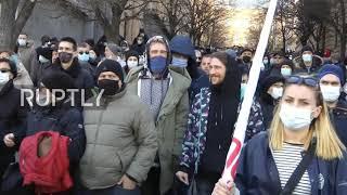 Gruzja: Tysiące osób protestuje w Tbilisi po aresztowaniu lidera opozycji.