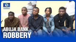 Police Arrest Another Abuja Bank Robbery Suspect