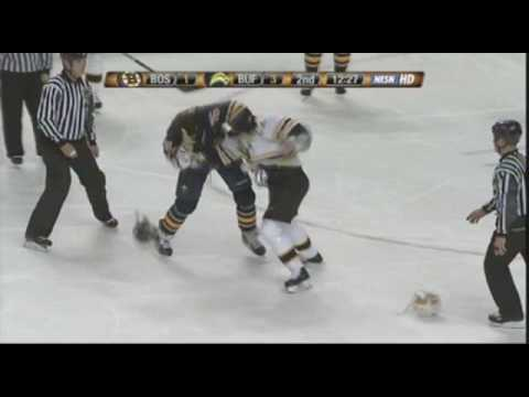 Andrew Peters vs. Shawn Thornton