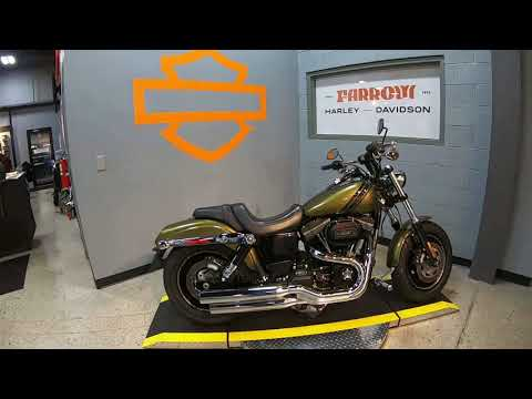 2016 Harley-Davidson Fat Bob FXDF 103