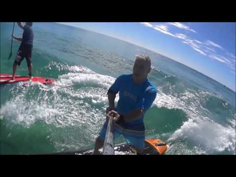 Aqua Marina Review Fusion & Race small wave surf test.