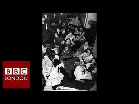 Bounds Green underground station marks Blitz anniversary – BBC London News