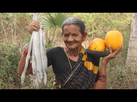Yummy Cucumber Dry Fish Recipe by my Grandma || Myna Street Food