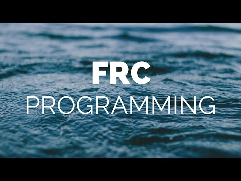 FRC 2015 Java Programming | S1E1 | Beginning Tutorial