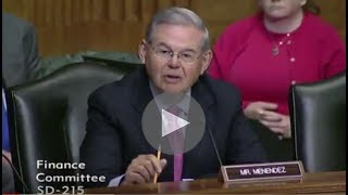 Menendez Questions Assistant Secretary for Tax Policy Nominee David Kautter Jul 18, 2017, 12 05 PM