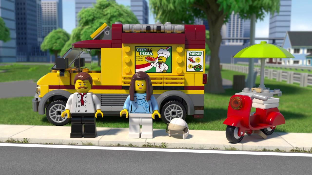 Lego City Klocki Foodtruck Z Pizzą 60150 Lego Sklep Empikcom