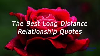 The Best Long Distance Relationship Quotes