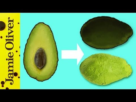 How to De-Skin an Avocado