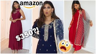Spending $400 On INDIAN CLOTHES From AMAZON? Worth It?!