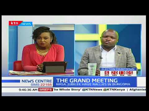 News Center discussion: The Grand meeting between IEBC and presidential candidates Part 2