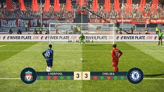 PES 2019   LIVERPOOL FC vs CHELSEA FC   Penalty Shootout   Gameplay PC