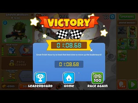 🥇 How to Beat NEW Bloons TD6 Race