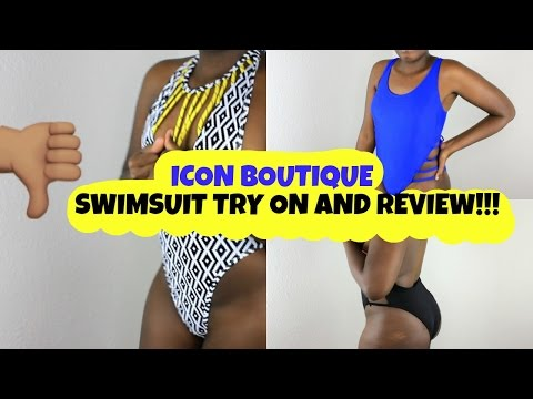 iCON Boutique Swimsuit Review & Try On / Rant | Slim Thick | Swimsuit Haul