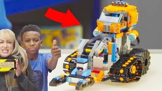 LEGO Boost & LEGO City Arctic COMBINED ROBOT BUILD! LEGO Boost Ideas & Easy Programming Instructions