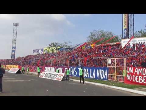 """Clásico Nacional - FAS 0-0 Zopes"" Barra: Turba Roja • Club: Deportivo FAS"