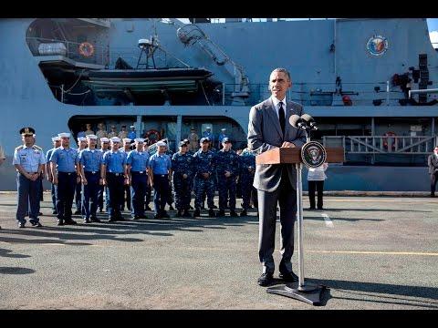President Obama Delivers Remarks in Manila Harbor
