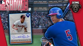 3 No Doubters! 99 Overall Brooks Robinson Debut! MLB The Show 19
