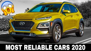Top 10 New Cars to Buy Based on the Highest Reliability Ratings in 2020