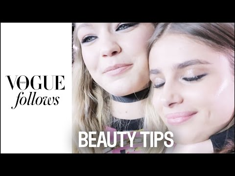 Gigi Hadid and Vogue girls share their Fashion Beauty Tips | #VogueFollows | VOGUE PARIS
