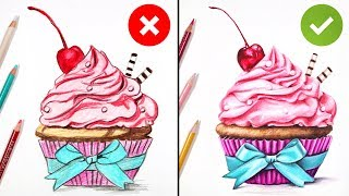 DOS & DONTS: How To Draw With Colored Pencils