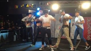 Justice Crew performing Boom Boom at Liverpool Westfields 14/11/12