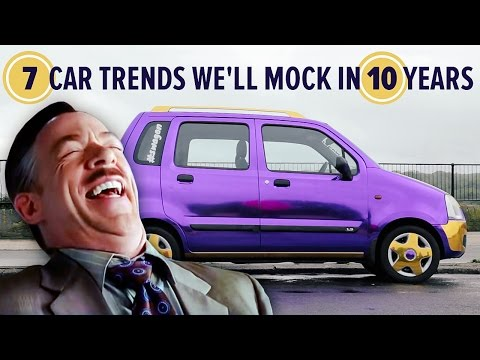 7 Car Trends We'll Mock In 10 Years