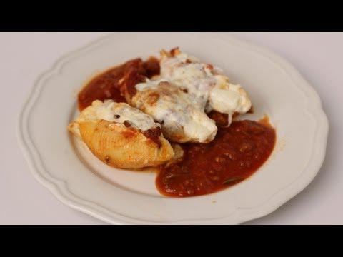 Homemade Stuffed Shells Recipe – Laura Vitale – Laura in the Kitchen Episode 450