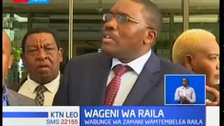 Wabunge wa zamani wa mlima Kenya wakutana na Raila, kunani?