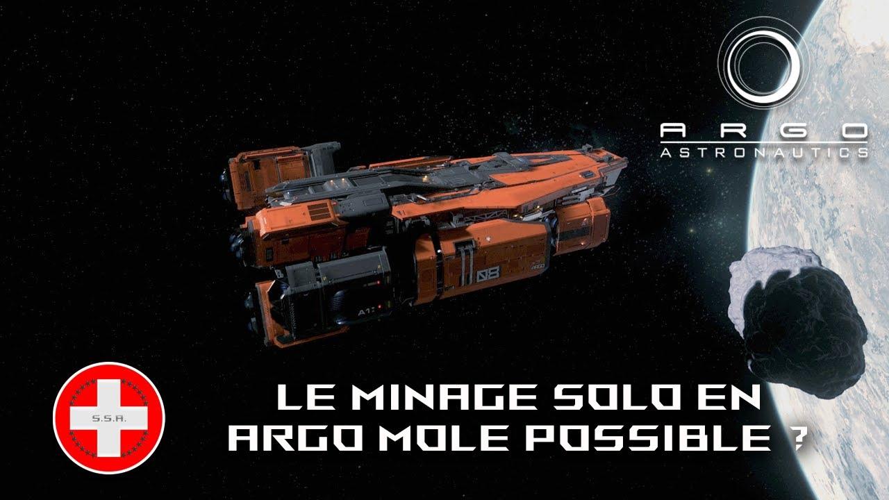 Star Citizen 3.8.0 FR - Le minage solo en Argo M.O.L.E. possible ?